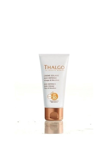 Thalgo SPF 30 Age Defence Sun Cream Renksiz